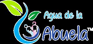 LOGO AGUA DE LA ABUELA ABUELA bordeado